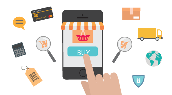Mobile commerce latest trend in business sapphire web for E commerce mobili